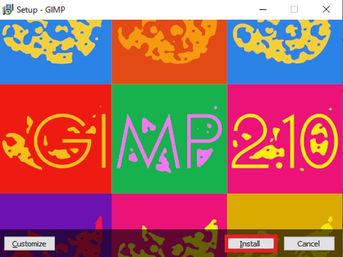 GIMPインストール画像3