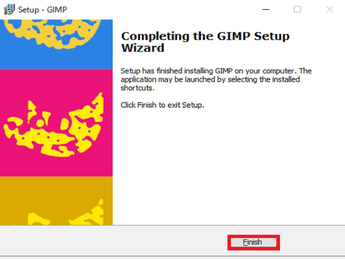 GIMPインストール画像5